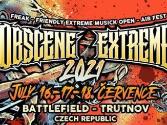 Průmyslová smrt vystoupí na Obscene extreme festivalu 2021